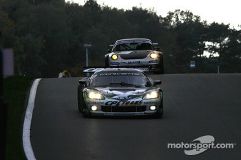 #3 SRT Corvette C6R: Bert Longin, James Ruffier, #60 Prospeed Competition Porsche 911 GT3 RSR: Marco Holzer, Richard Westbrook