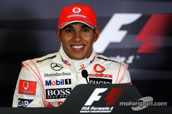 FIA post-qualifying press conference: Lewis Hamilton, McLaren Mercedes