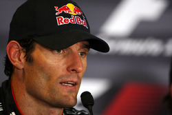 Post-race press conference: Mark Webber, Red Bull Racing