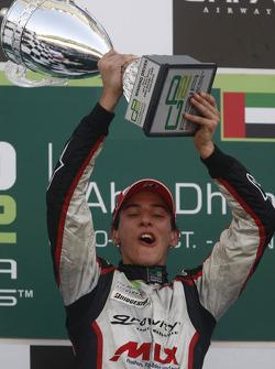 Christian Vietoris celebrates his victory on the podium