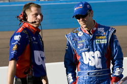 Matt Kenseth, Roush Fenway Racing Ford, with crew chief Drew Blickensderfer