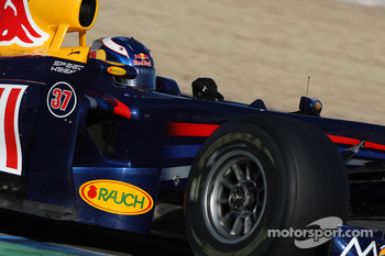 Daniel Ricciardo, Tests for Red Bull Racing