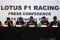 Lotus F1 Racing presentation