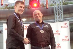 Orlen Team presentation: Jakub Przygonski on stage