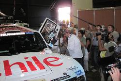 #326 Hummer of Carlo De Gavardo and Juan Pablo Rodriguez at scrutineering