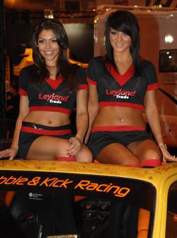 Leyland Promo girls