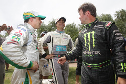 Guilherme Spinelli, Carlos Sousa and Robby Gordon