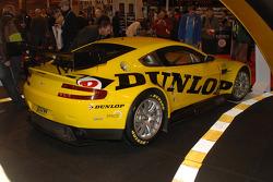 Dunlop sponsored Aston Martin