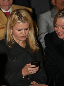 Corina Schumacher and Sabine Kehm