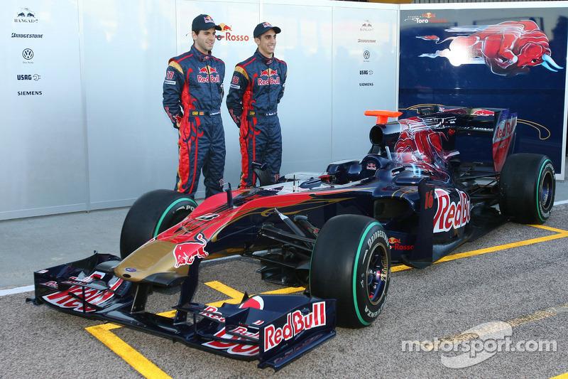 Jaime Alguersuari, Scuderia Toro Rosso and Sebastien Buemi, Scuderia Toro Rosso