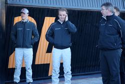 Michael Schumacher, Mercedes GP, Nico Rosberg, Mercedes GP, Ross Brawn Team Principal, Mercedes GP