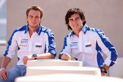 Giedo Van der Garde and Sergio Perez