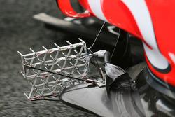 aero sensors on the McLaren Mercedes, MP4-25