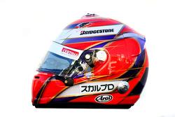 Kamui Kobayashi, BMW Sauber F1 Team helmet