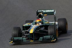Fairuz Fauzy, Test Driver, Lotus F1 Team, T127