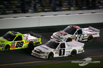 Matt Crafton, Nelson A. Piquet and Stacy Compton