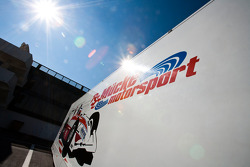 The Mucke Motorsport Truck and logo