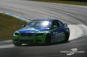 #79 Kinetic Motorsports BMW M3 Coupe: Chris Hall, Chris Prusinski