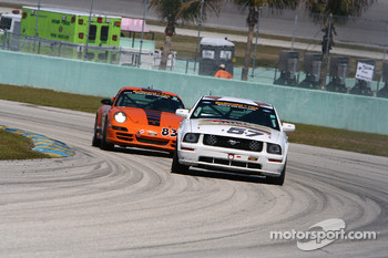 #57 Rehagen Racing Ford Mustang GT: Steve Cameron, Rob Finlay