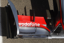 front wing of the McLaren