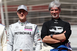 Michael Schumacher, Mercedes GP, Damon Hill, 1996 F1 World Champion