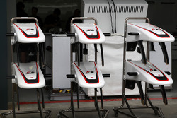 Race preparations, BMW Sauber F1 Team, nose cones