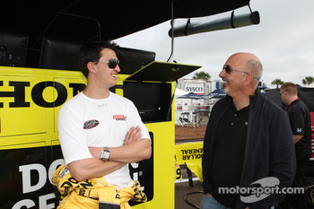 Graham Rahal, Sarah Fisher Racing with dad Bobby Rahal