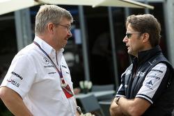 Ross Brawn Team Principal, Mercedes GP, Adam Parr, Williams F1 Team