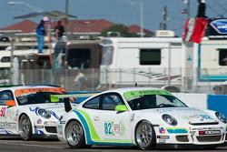 #50 Autometrics Motorsports: Gary Pennington, #82 Hawk Motorsports: Lloyd Hawkins
