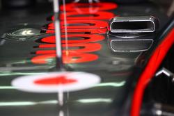 McLaren air duct