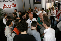 Audi Sport Team Joest meets the media
