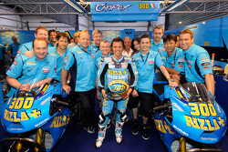 Loris Capirossi, Rizla Suzuki MotoGP celebrates 300th Grand Prix