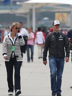 Sabine Kehm, Michael Schumacher's press officer, Michael Schumacher, Mercedes GP