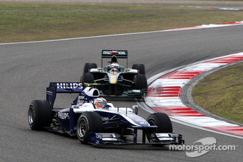 Nico Hulkenberg, Williams F1 Team, Jarno Trulli, Lotus F1 Team