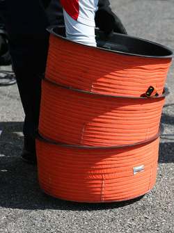Tyre warmers for inside the rim