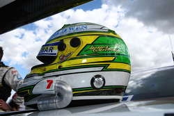 James Courtney's helmet