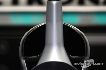 Mercedes air intake