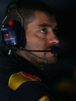 Guillaume Rocquelin, Red Bull Racing Race Engineer of Sebastian Vettel