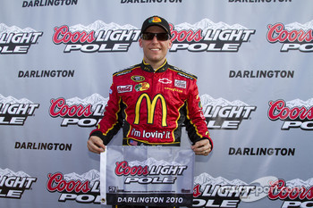 Pole winner Jamie McMurray