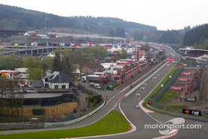 Start of 2010 Spa race