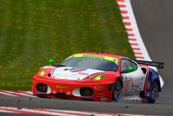 #90 CRS Racing Ferrari F430 GT: Pierre Ehret, Phil Quaife, Pierre Kaffer