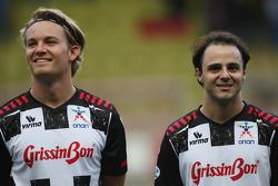 Nico Rosberg, Mercedes GP, Felipe Massa, Scuderia Ferrari