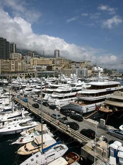 Monaco atmosphere, boat, yacht