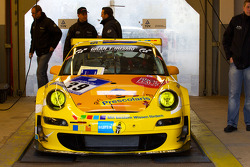 #39 Prescolaris Team Mspeed Porsche 997 GT3 at technical inspection