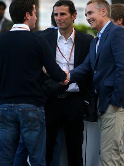 Amber Lounge Fashion Show, Pedro de la Rosa, BMW Sauber F1 Team and Martin Whitmarsh, McLaren, Chief Executive Officer