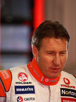 Team Vodafone endurance co-driver Mark Skaife drives the #888 Commodore during the endurance driver session