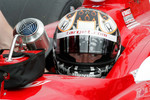 Scott Dixon, Target Chip Ganassi Racing waits to qualify