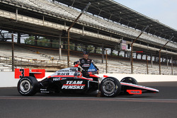 Front row photoshoot: Helio Castroneves, Penske Team