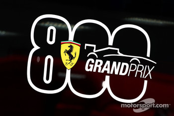 Ferrari celebrate there 800th Grand Prix
