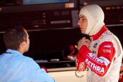 Jules Bianchi talks with Nicolas Todt, ART Grand Prix team principal